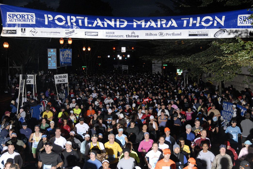 The Portland Marathon is one of the most popular running events in the region.