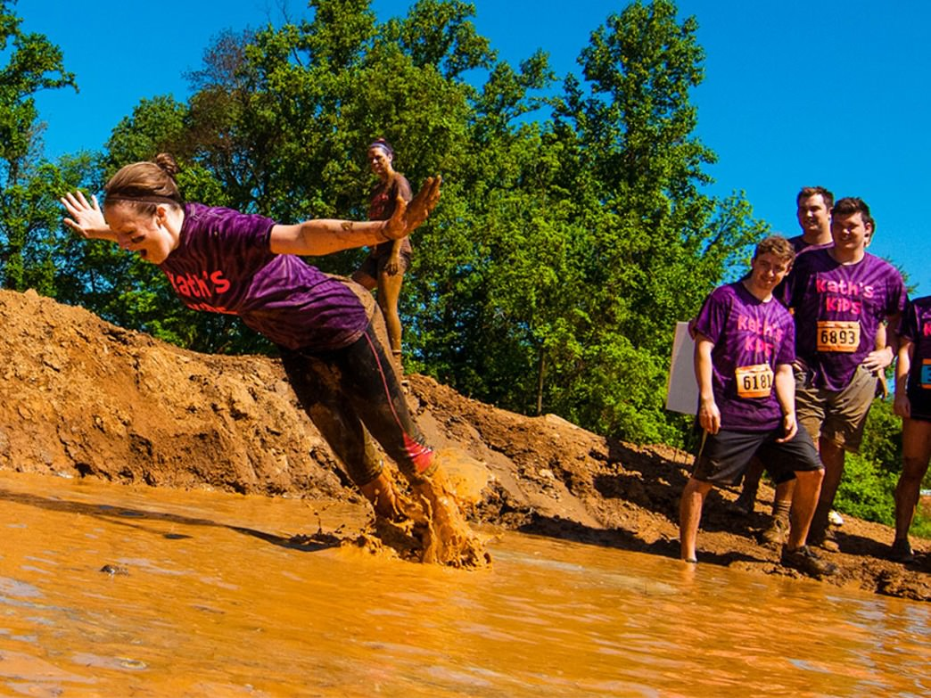 Expect to get plenty muddy at MuckFest.