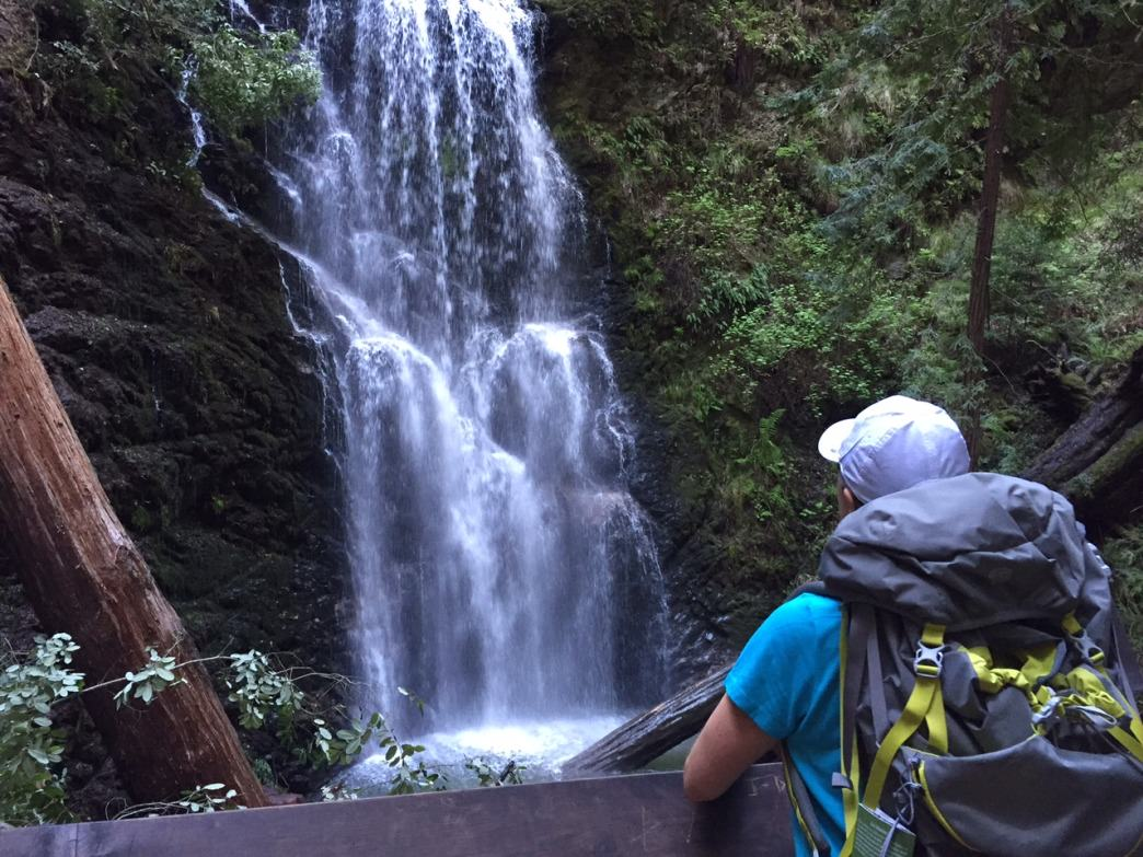 Berry Creek Falls is a highlight of Big Basin State Park.