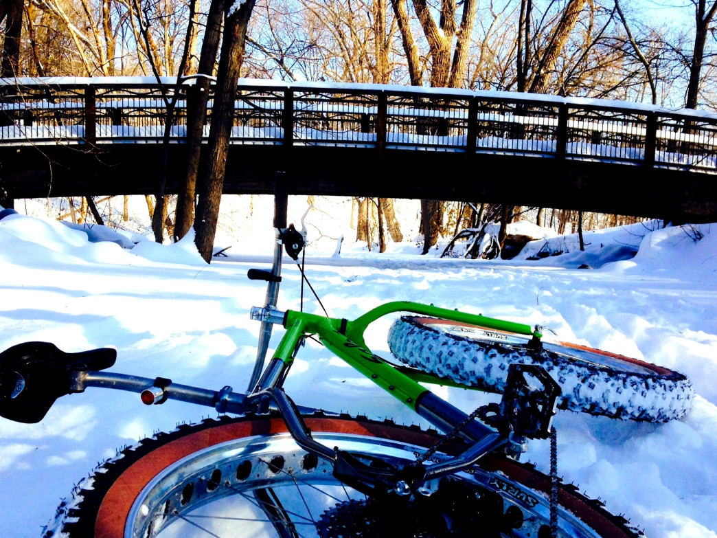 More and more cyclists are discovering fat biking in the winter.