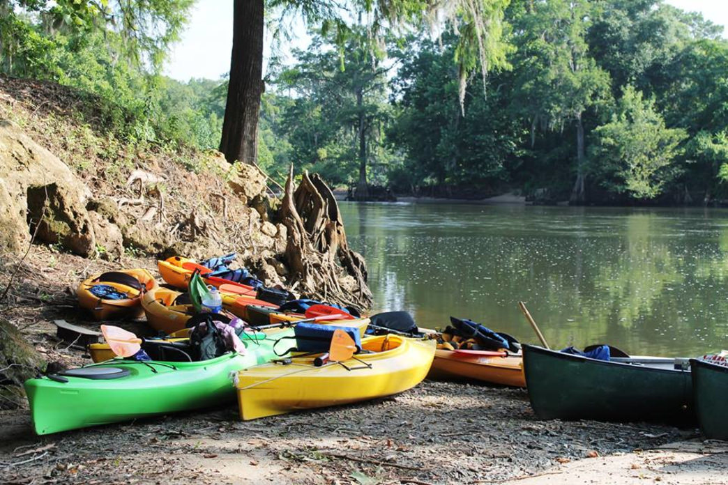 Forget the rowboat—a canoe or kayak is the way to take a date on the water.