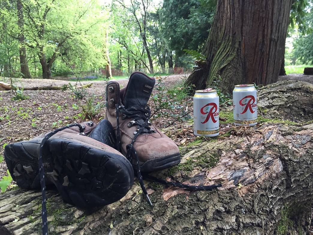 There is nothing quite like kicking off one's boots and having a beer.