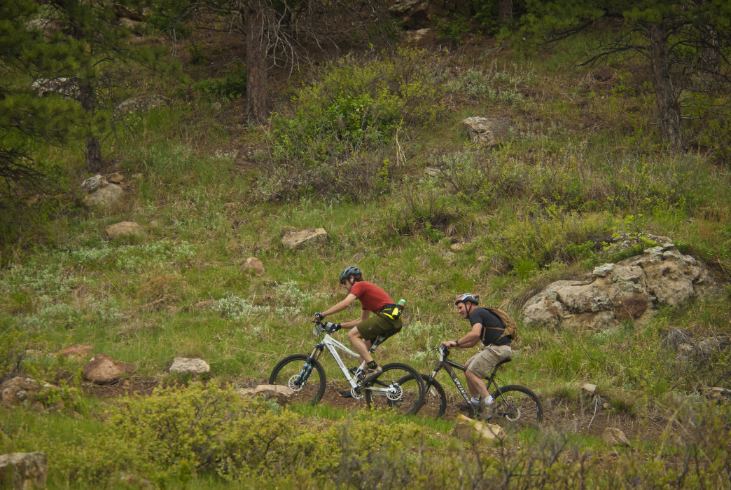Alkali Creek features nearly 20 miles of trails, including some highly technical singletrack.