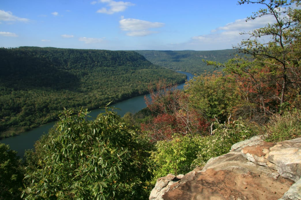 Signal Point offers one of the mountain's signature views.