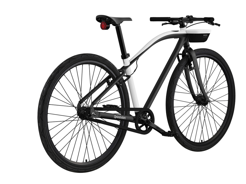 Bicycles built specifically for the Spinlister smart bike system will include puncture-resistant tires and a lightweight alloy frame.