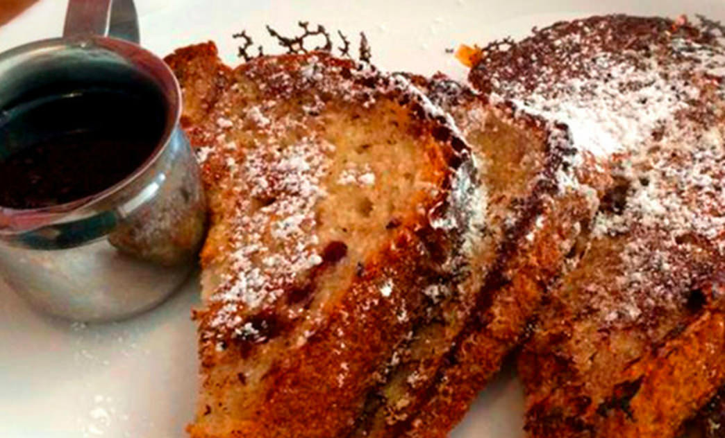 French toast is a tasty (albeit not the most nutritious) way to fuel up for a day of adventure.