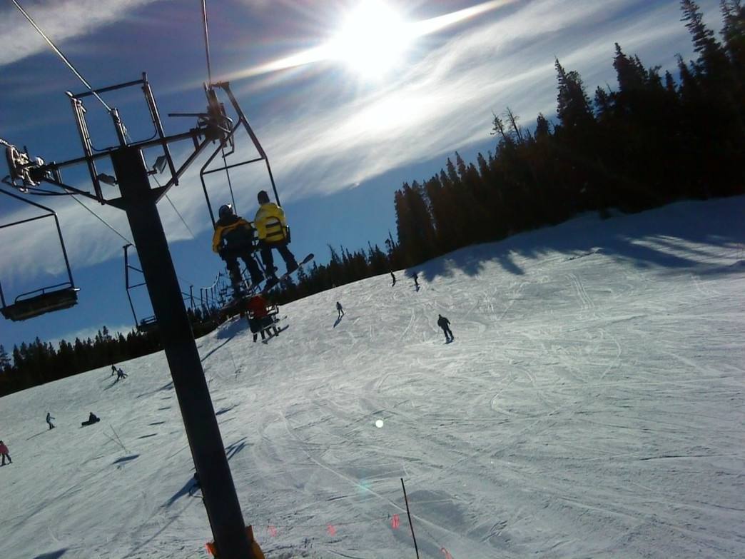 Eldora's 680 acres are serviced by 10 lifts.