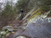 Snake Creek Gap singletrack