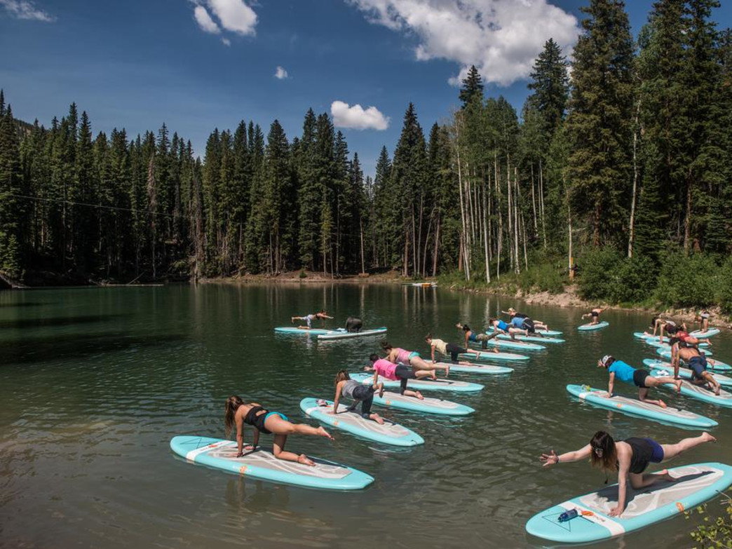 Yogis and yoginis make their way to Snowmass July 2-5 to practice traditional and fusion yoga in a spectacular mountain setting.