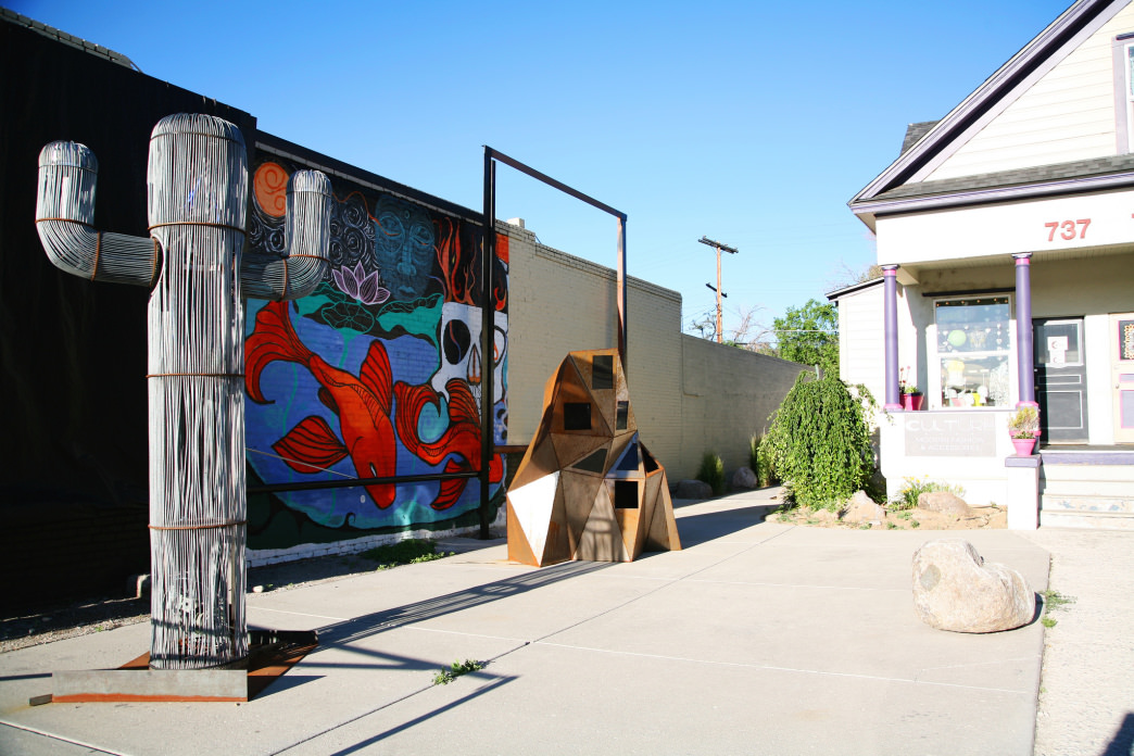 Arts and culture in Reno's MidTown district.
