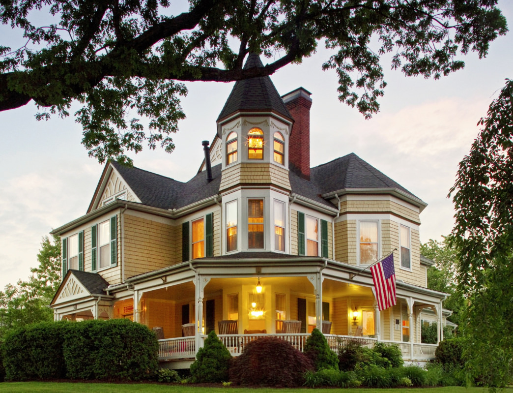 The Oaks Victorian Inn is on the National Registry of Historic Places. Renee Sklarew