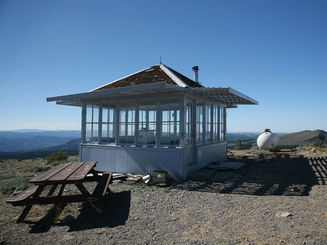 Drake Peak Lookout is the highest fire lookout that can be rented in Oregon.