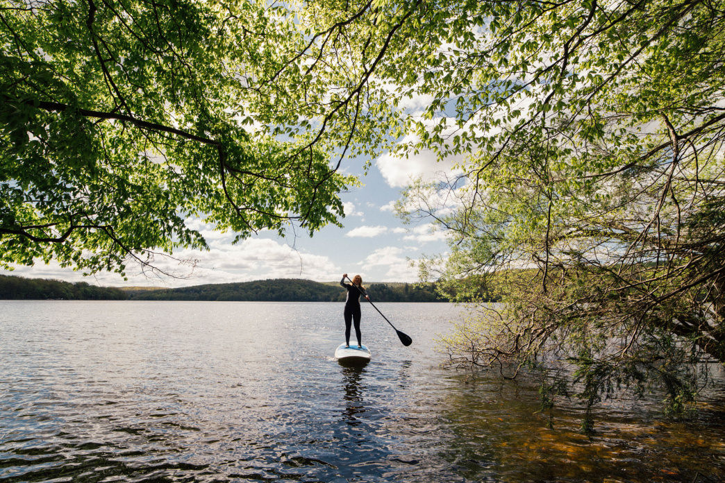 Try Paddleboarding on Lake Wallenpaupack