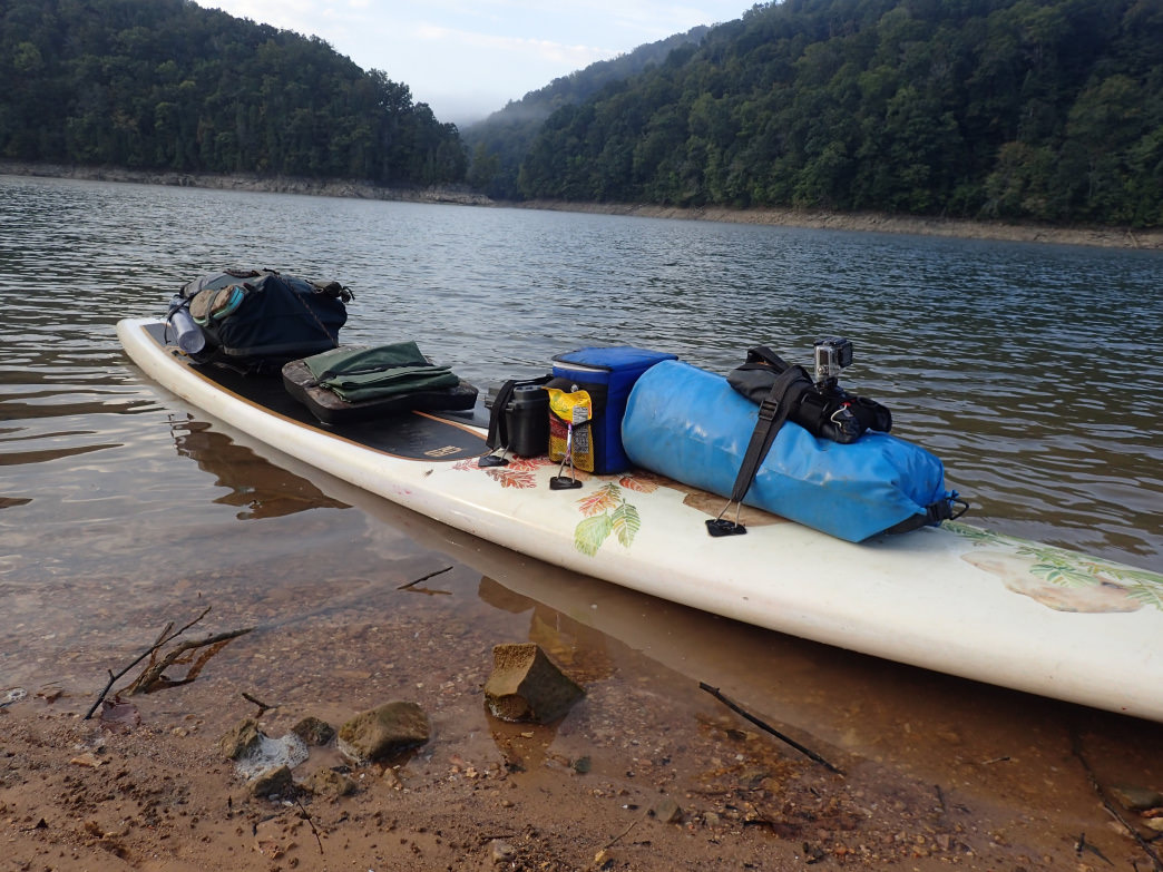 Packed up the SUP for a Tennessee adventure.
