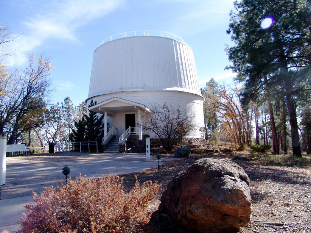 Lowell Observatory on Mars Hill