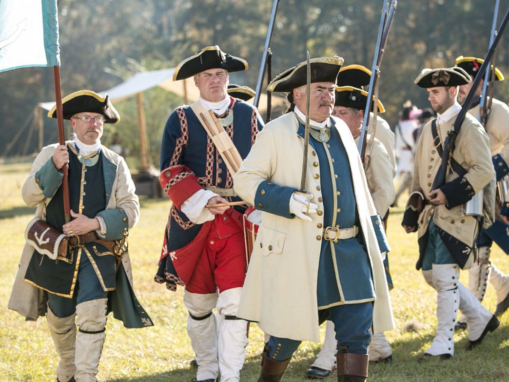 Fort Toulouse-Fort Jackson Park offers plenty of natural beauty to go with its historical charms.