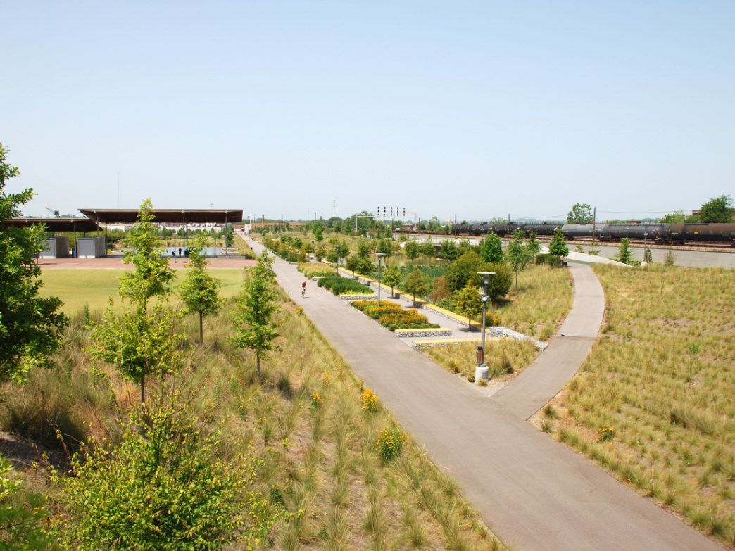 Railroad Park, Alabama.