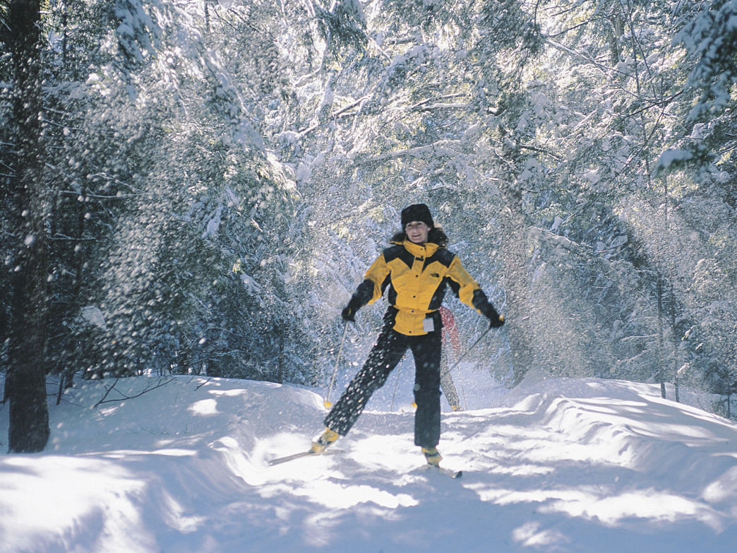 Ski touring is another excellent option for a winter workout.