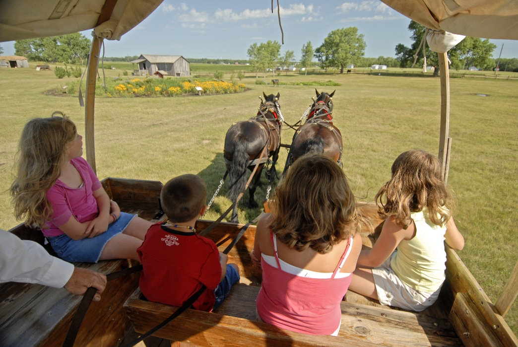 The Ingalls Homestead offers visitors a chance to see what live was like on the Little House on the Prairie.