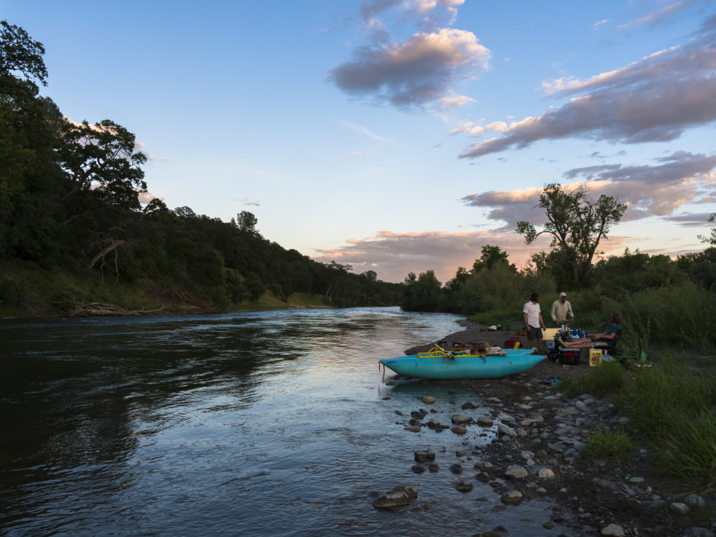 Island camp nights along one of the wildest stretches of the Sacramento River.