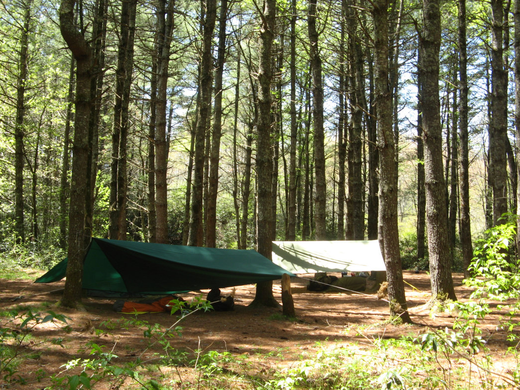 Camp in North Carolina's Panthertown Valley, a rugged, 6,295-acre portion of the Nantahala National Forest.
