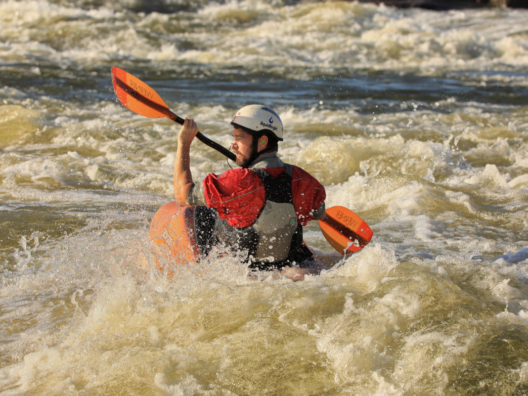 Whitewater in Wisconsin? Yes, and lots of it.