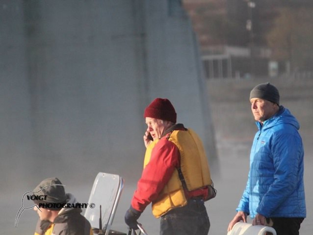 Wheeler on the starting line of the Chattajack SUP race.