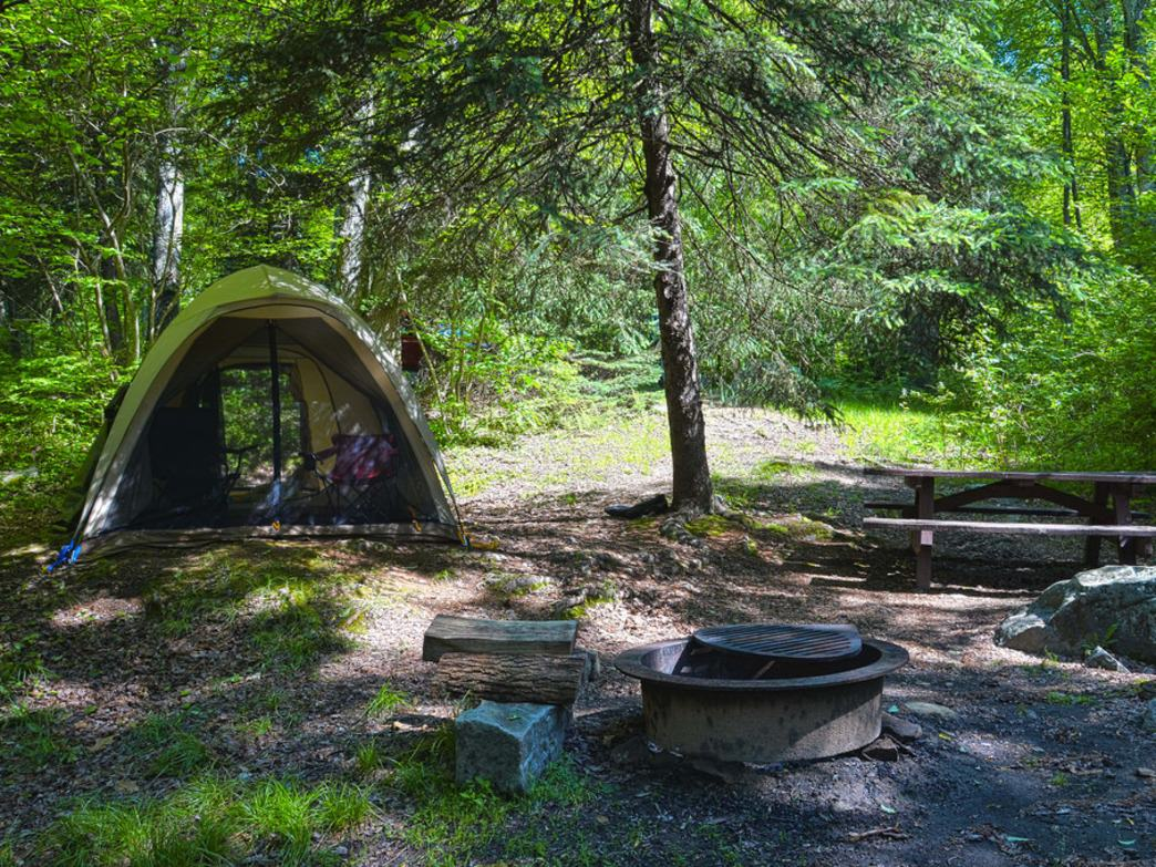 You don't have to drive far from Philly to find some excellent overnight camping opportunities