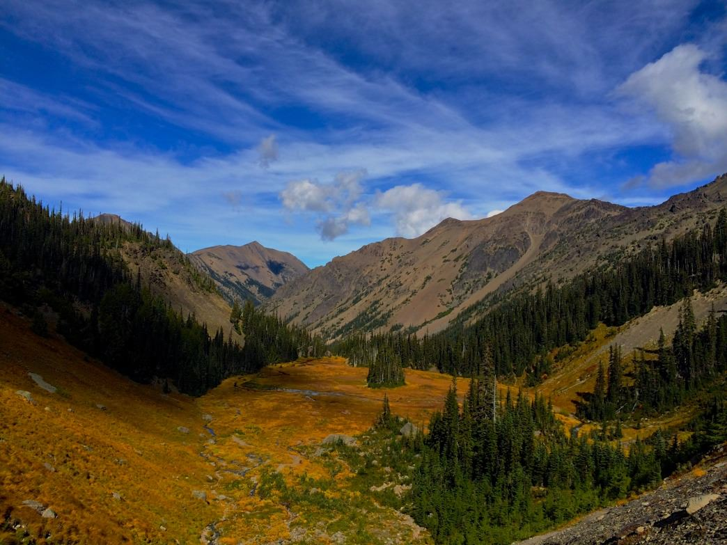 Royal Basin is a classic destination in Olympic National Park and a spectacular place to visit during fall