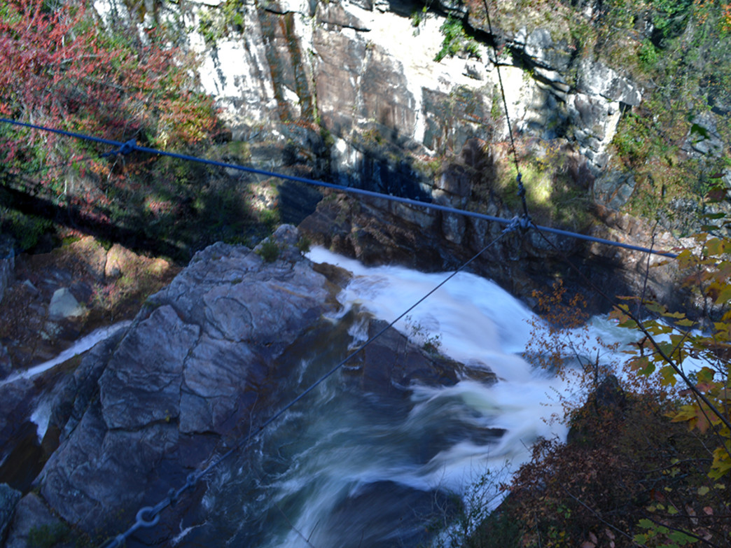 Tallulah Gorge's Suspension Bridge