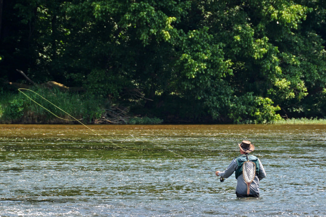 An overview of the fly fishing scene in southwest virginia for Healing waters fly fishing