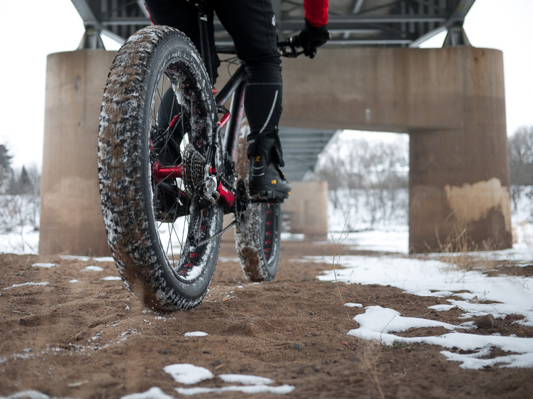 Fat biking allows cyclists to ride all year in Chicago.