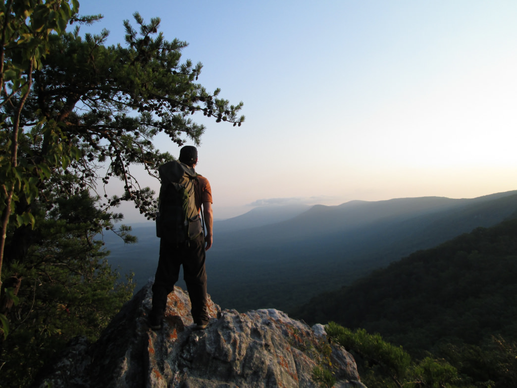 The Pinhoti Trail in the Cheaha Wilderness Area has some beautiful hiking views.