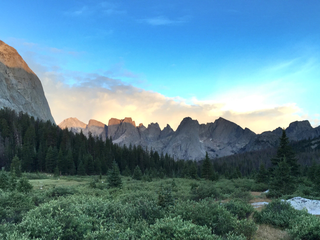 Cirque of the Towers, Wyoming.