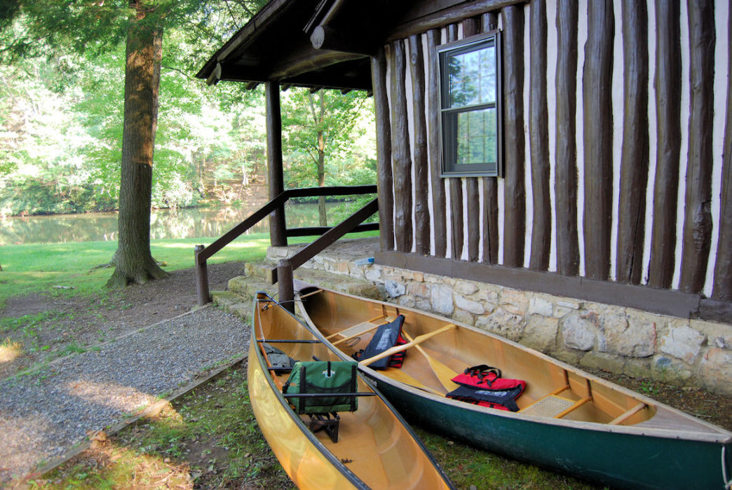 Paddling at Hungry Mother State Park is a popular way to explore the region.