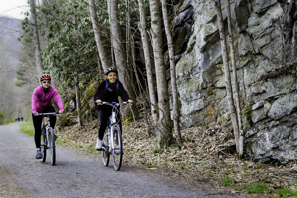 The Greenbrier River Trail is 78 miles long, perfect for a short trip or a longer adventure.      GoToWV.com