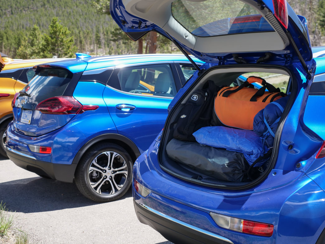 Trunk space includes a inset compartment that easily held enough gear for a Colorado camping trip.       Barry Staver