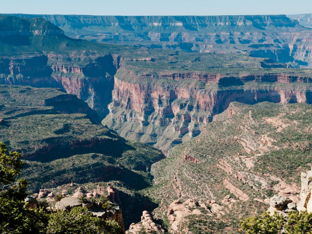 Monument Point on the North Rim, Grand Canyon National Park, Arizona.