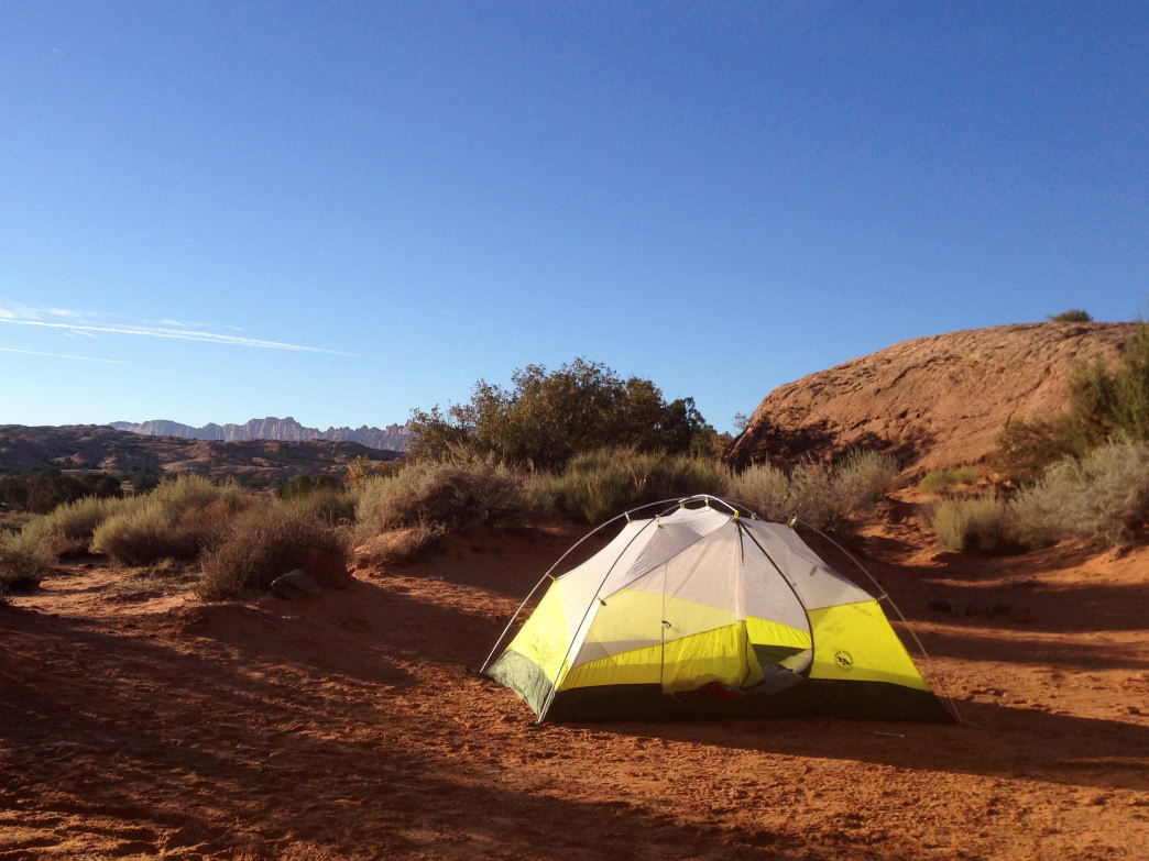 The camping in and around Moab is tough to beat.
