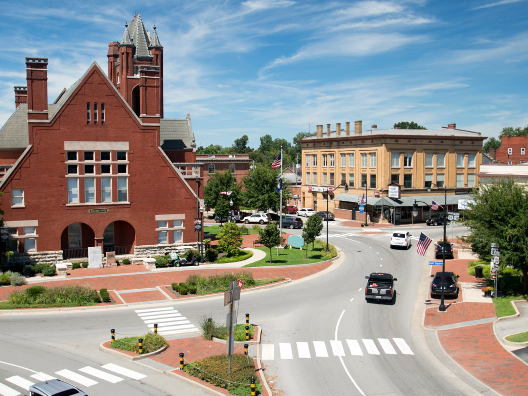 For a small Kentucky city, Bardstown has a bustling downtown that's BIG on personality.