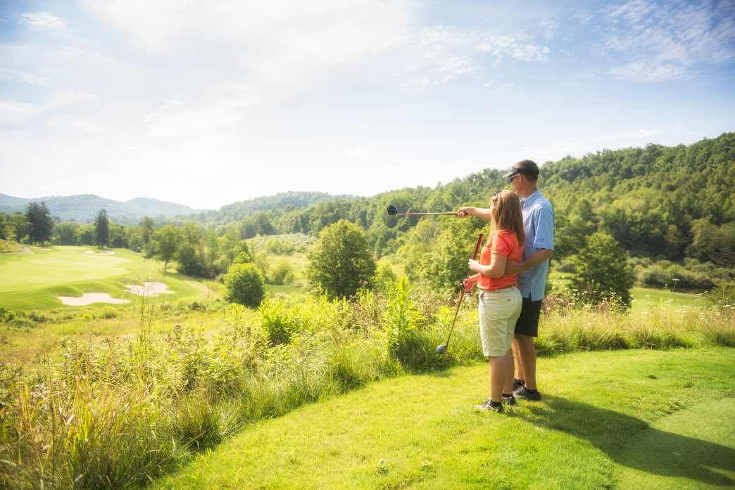 Stonewall Resort is also home to an Arnold Palmer Signature Golf Course.     Chris Audia