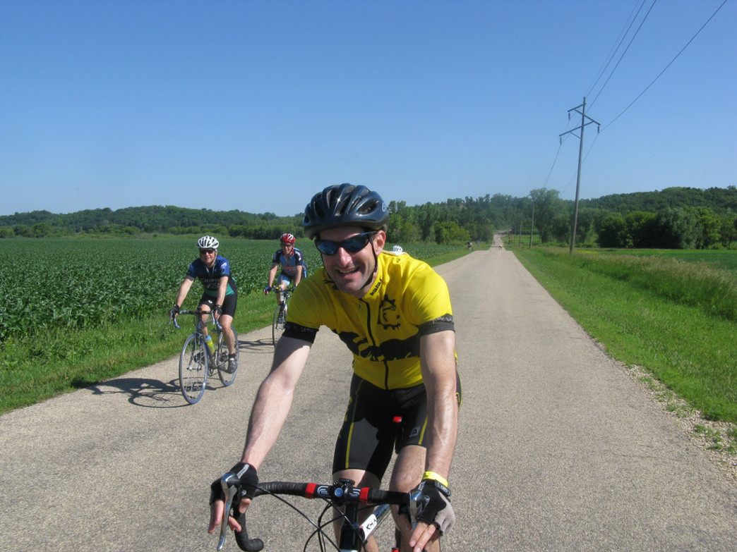 The Hilly Hundred brings cyclists from more than 40 states to Indiana.