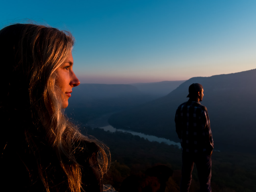 A trip to Snooper's Rock reveals the stunning views of the surrounding mountains.
