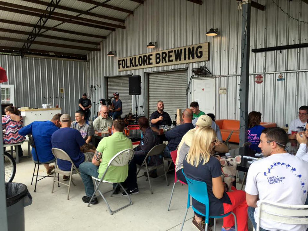 There's lots of room to park, sit, and expand production at Folklore Brewing and Meadery outside Dothan.      Courtesy of Folklore Brewing and Meadery