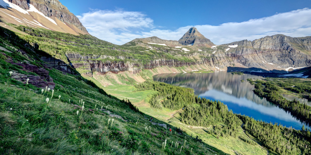 Hidden Lake is home to some of the wildest country in the park.