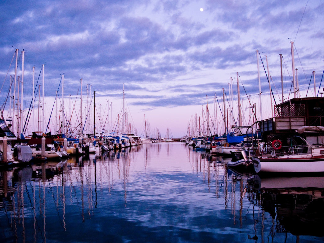 You can take a trip on just about any kind of boat from the Santa Barbara Harbor.