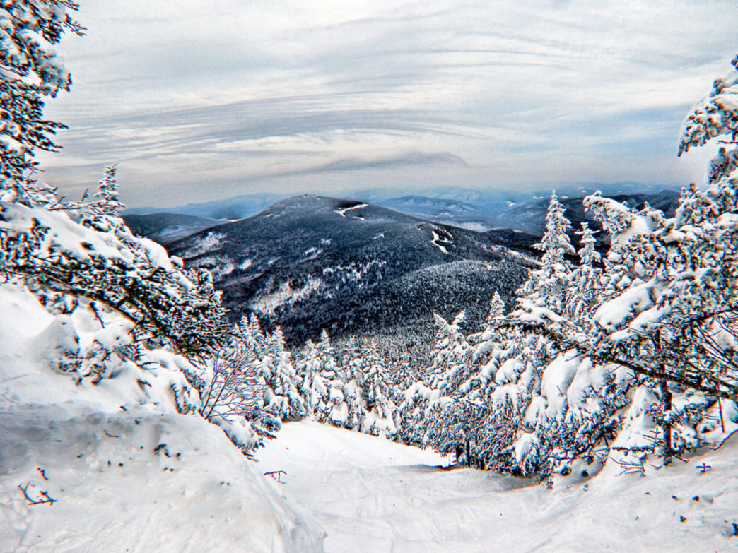 The quiet stashes of backcountry powder at Killington Mountain