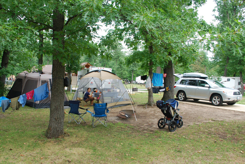 Car camping is an easy way to make sure the kids have all the comforts of home.