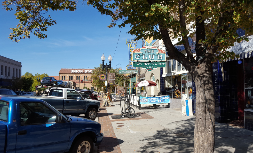 Take a stroll along Historic 25th Street in Ogden.