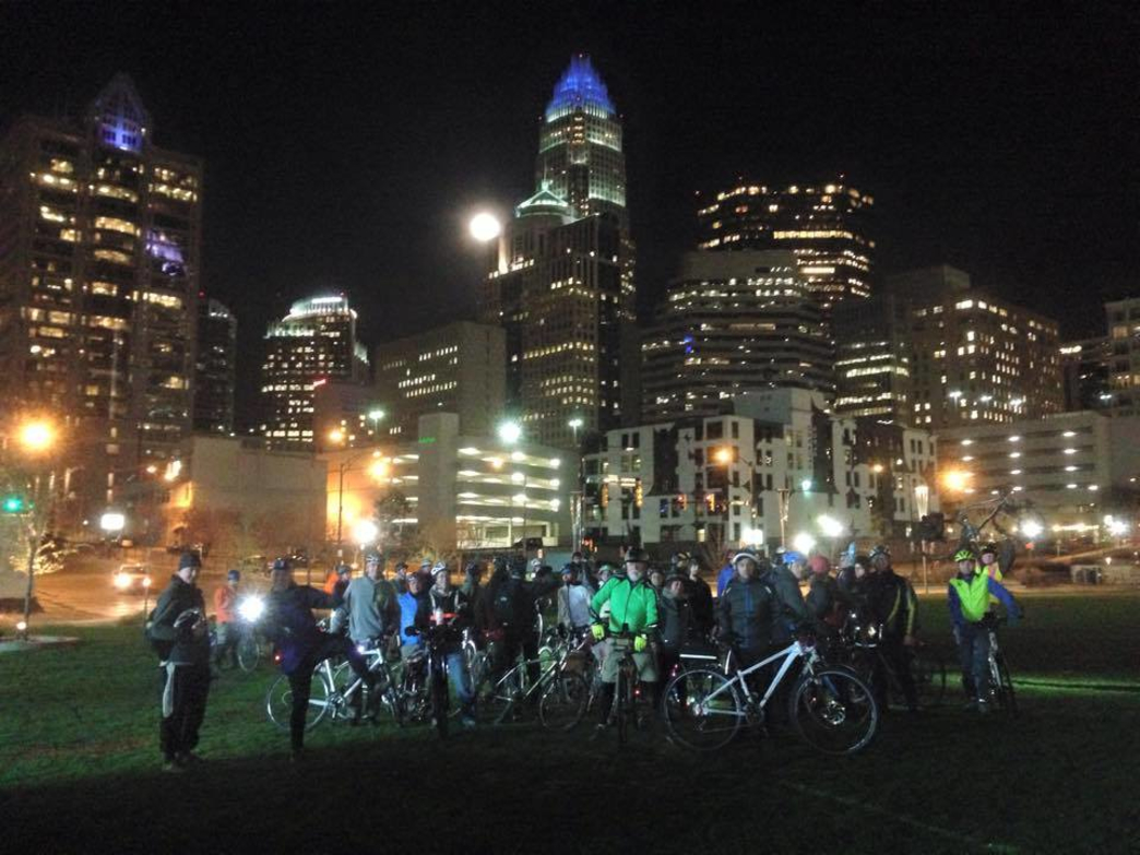 Joining a group ride is a great way to get to know the Queen City and fellow cyclists